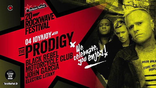 Rockwave Festival / Supporting Prodigy