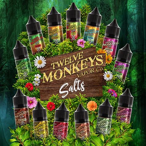 Premium E-liquids   Twelve Monkeys Vapor Co