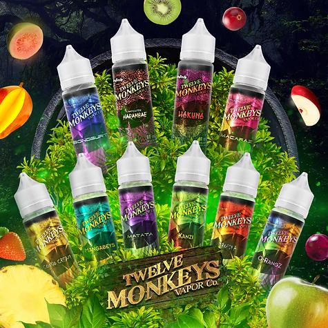Premium E-liquids | Twelve Monkeys Vapor Co