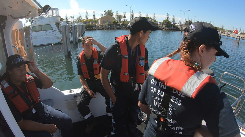 Emergency services cadets on Crikey.jpg