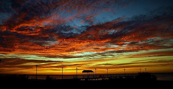 Sunset over new jetty.jpg