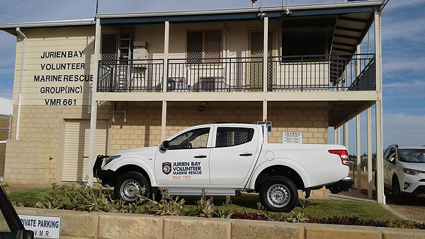 Ute in front of building two.jpg