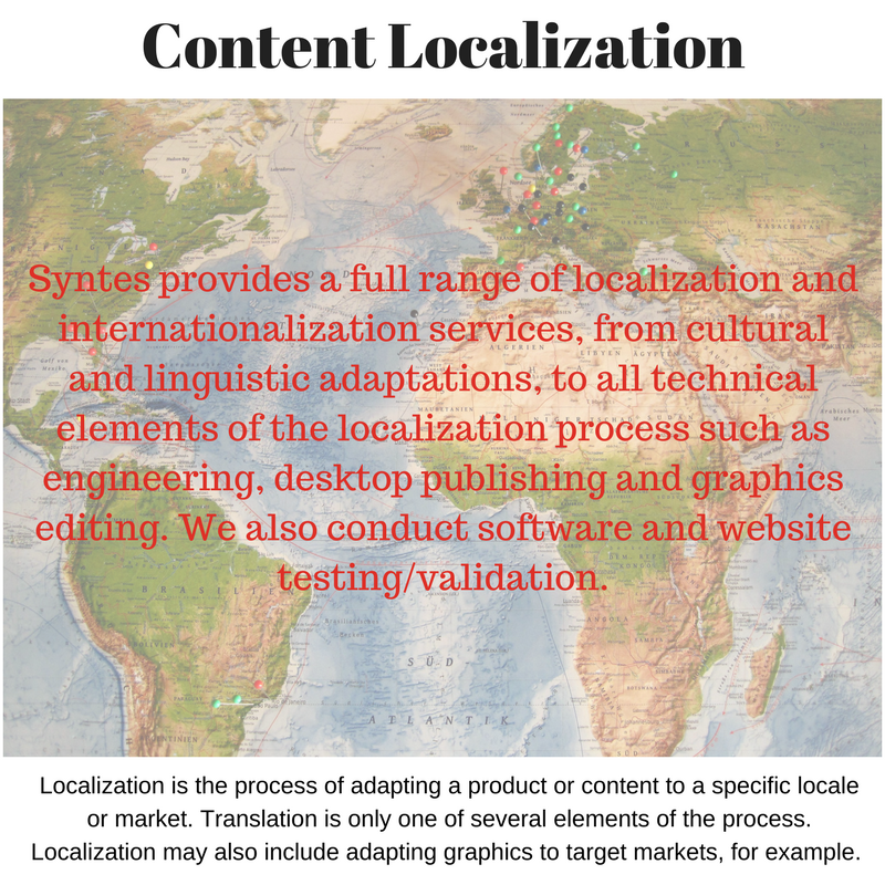 Syntes Content Localization, Cultural Adaptations