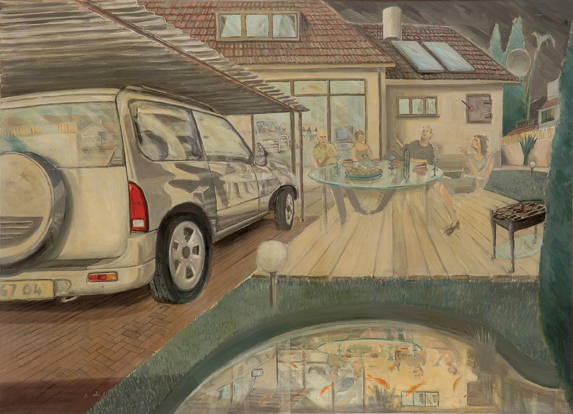 escapia 2004 – oil on canvas 120x170
