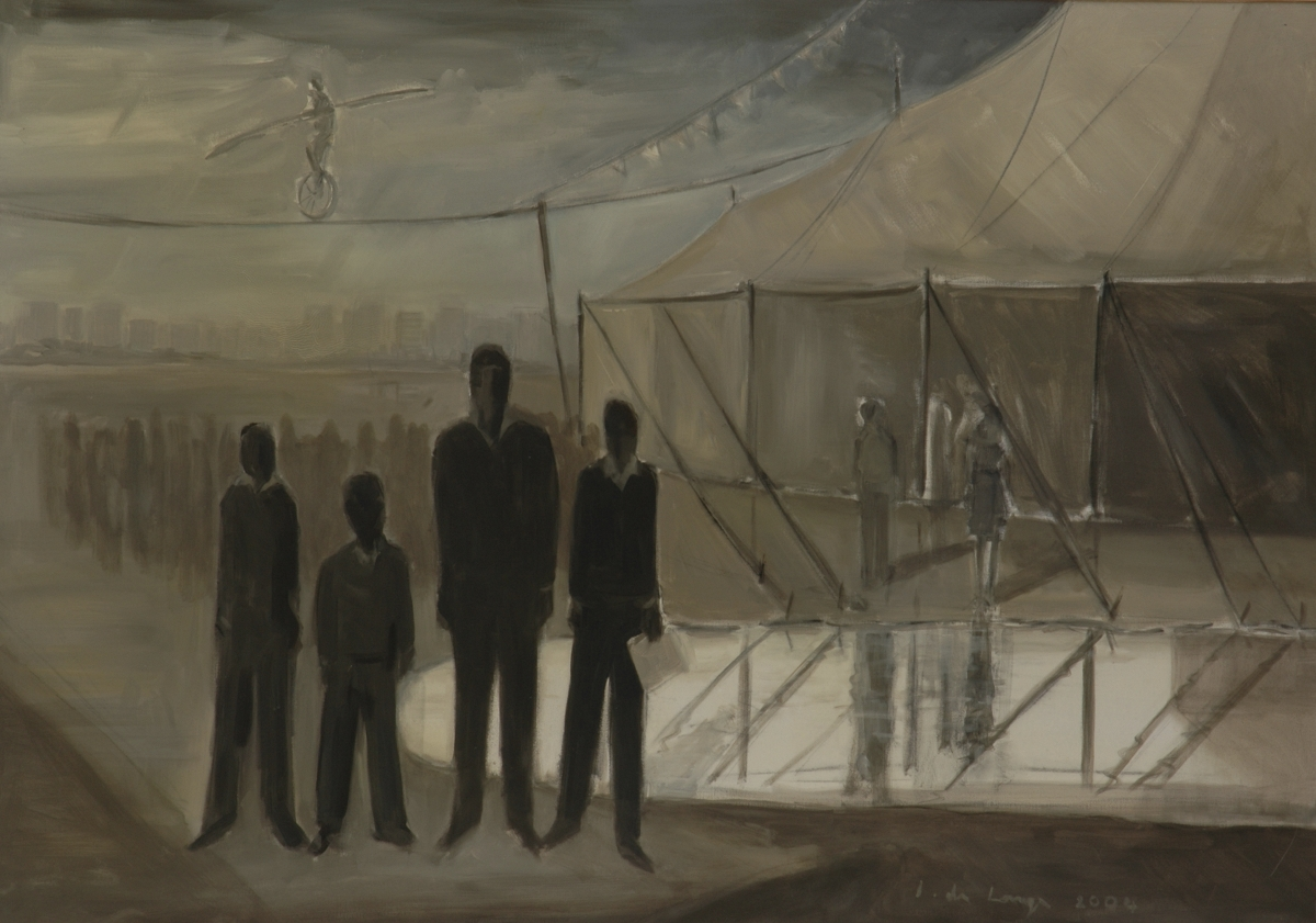 The visit 2004 – oil on canvas – 170