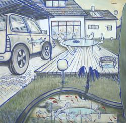 escapia 2004 – oil on canvas 120x120