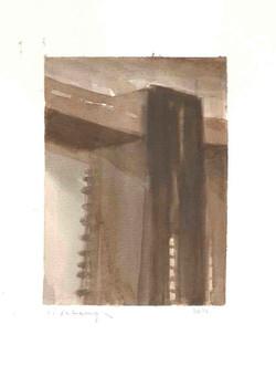 Nefilim 2012, watercolor on paper 36