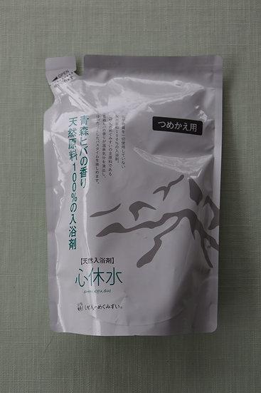 天然入浴剤 心休水 (詰め替え用) 400mL