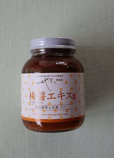 濃縮番茶・生姜入り 梅醤エキス 250g