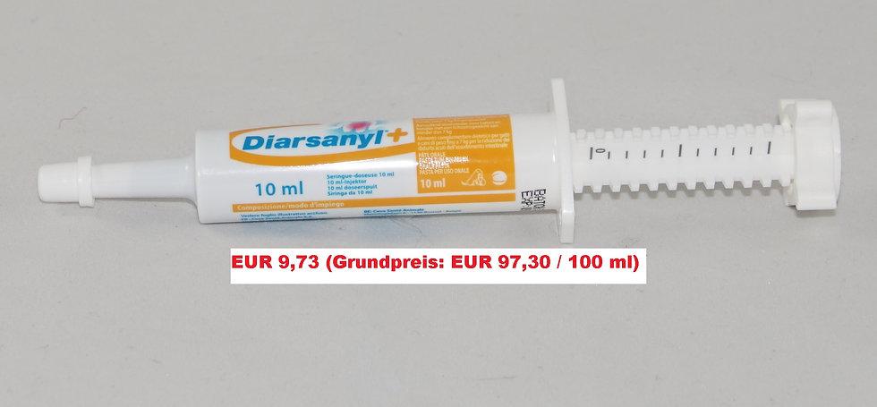 Diarsanyl Plus (10 ml) für kleine Hunde und Katzen (Grundpreis 97,30 €/100 ml)