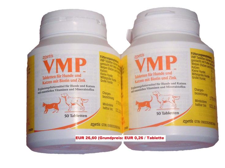 2x VMP Tabletten (50 Stück) (Grundpreis 0,26 €/Stk.)