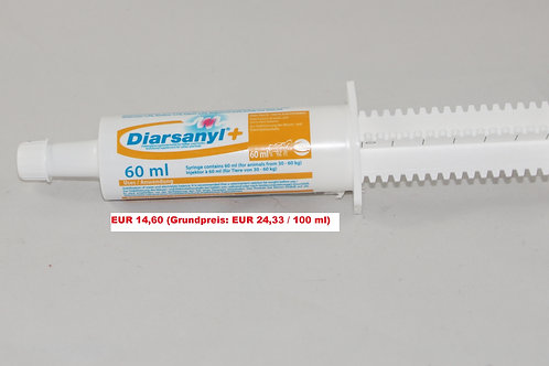 Diarsanyl Plus (60 ml) für große Hunde (Grundpreis 24,33 €/100 ml)