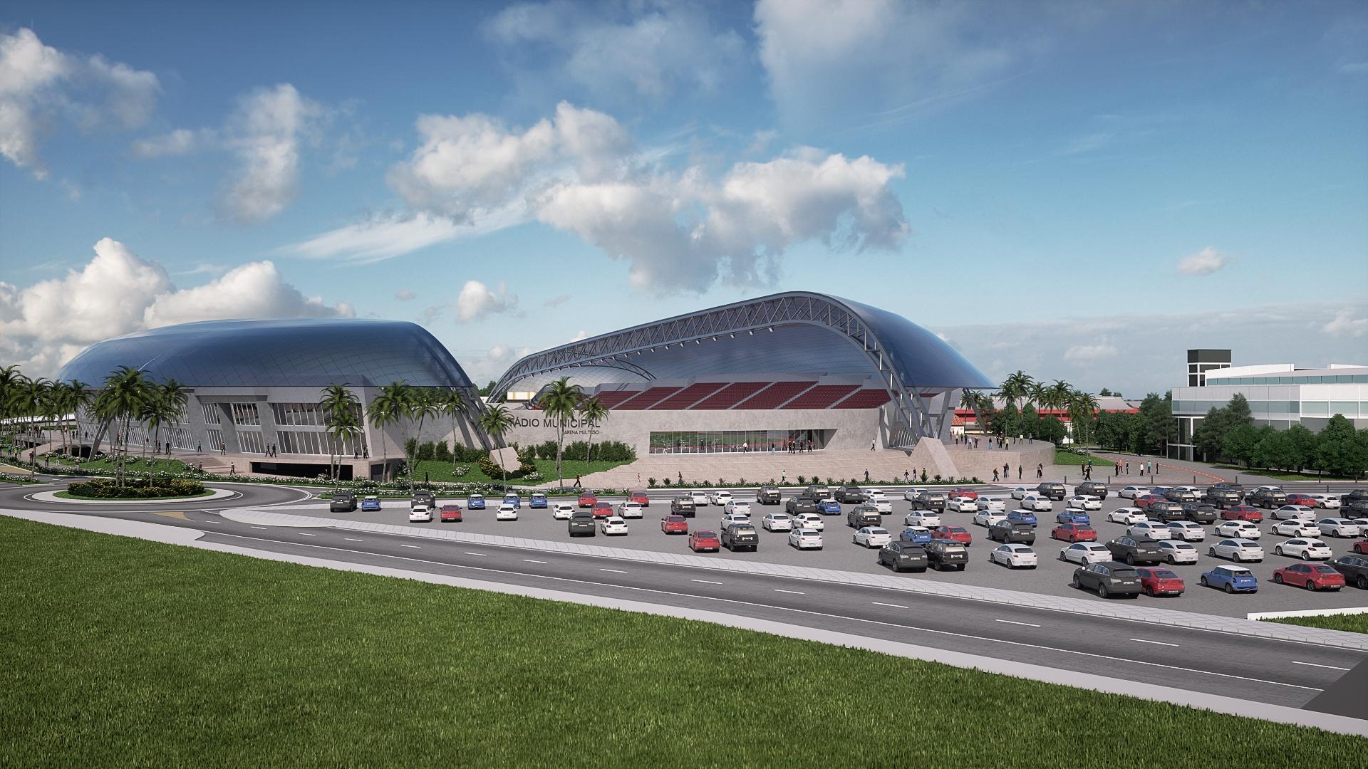 Estadio Municipal - Prefeitura SCS 02