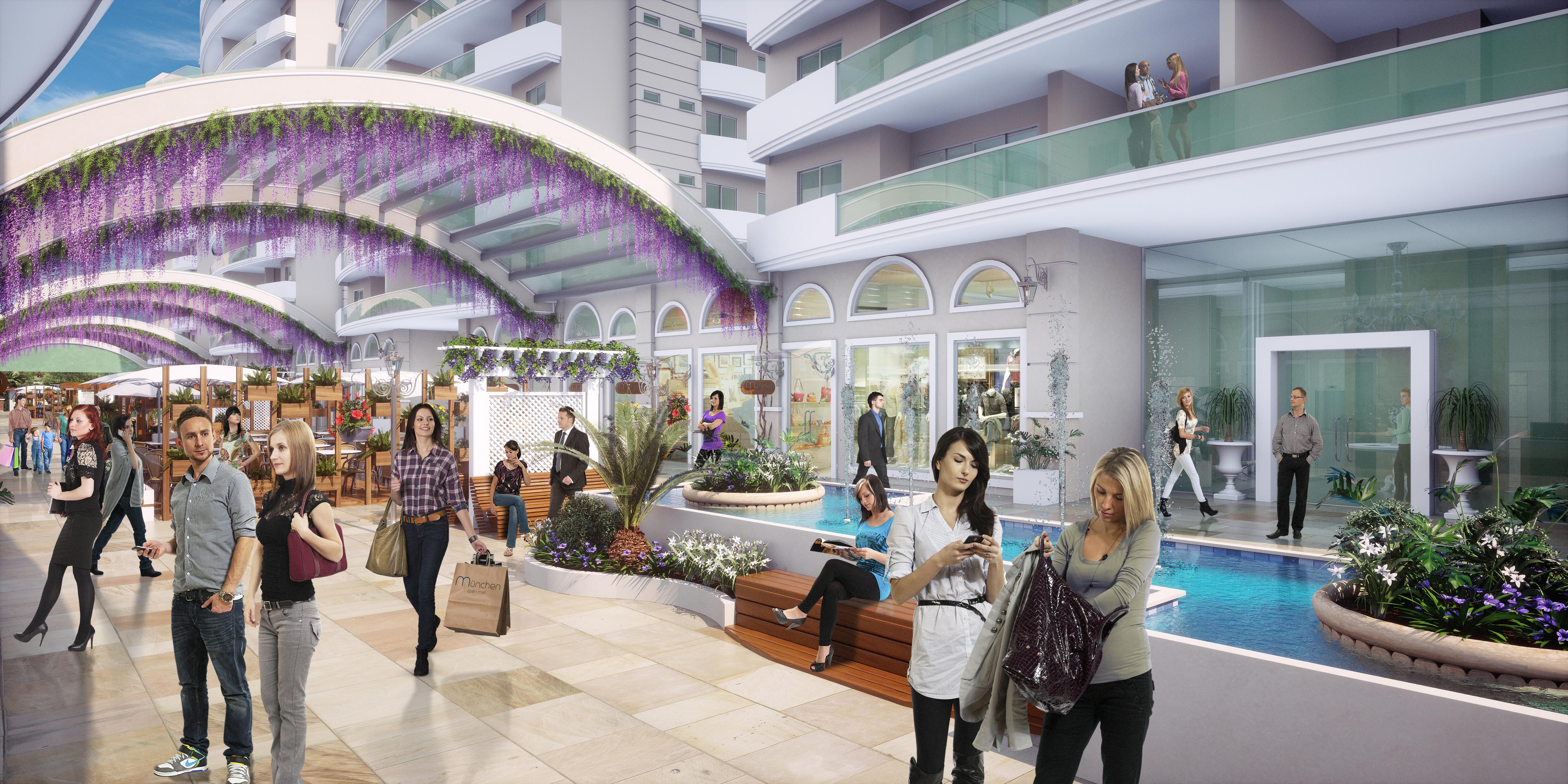 München Open Mall e Residence