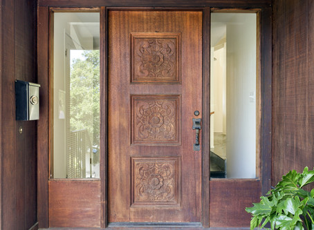 3 ways your front door can improve the way you feel.