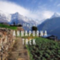 Annapurna Massif ,as you hike through Gh