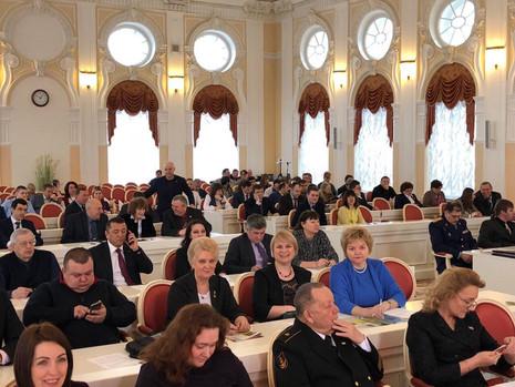 Третья региональная конференция Бессмертного полка России в Санкт-Петербурге