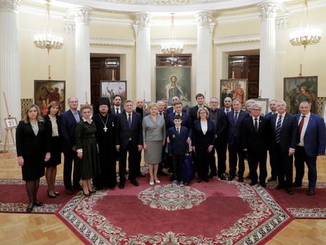 В Мариинском дворце открылась выставка, посвященная 800-летию со дня рождения Святого благоверного к