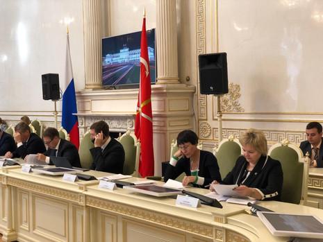 Заседание комитета по законодательству, 27 сентября