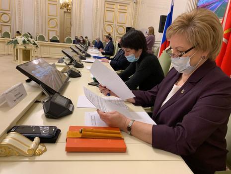 Заседание комитета по законодательству, 15 января