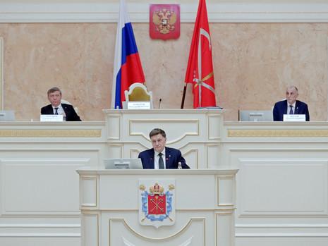 Отчет пресс-службы о заседании Законодательного Собрания СПб 7 апреля 2021 года