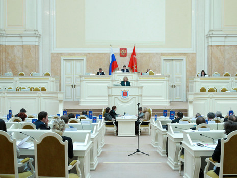 Отчет пресс-службы о заседании Законодательного Собрания СПб 27 марта 2019 года