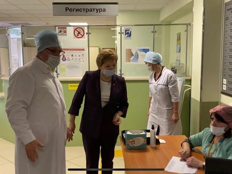 Сергеева оказала помощь ПТД 5