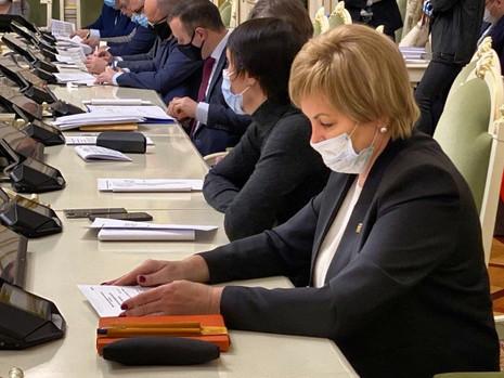 Заседание комитета по законодательству, 11 января