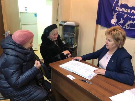 Приемы граждан в Красногвардейском районе