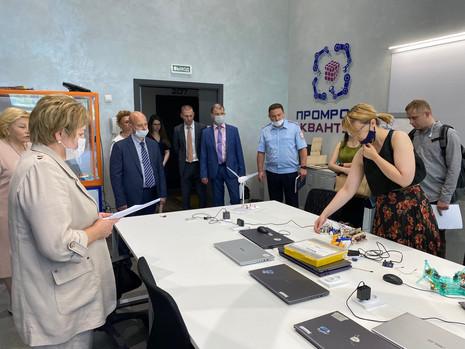 Выездное заседание Коллегии администрации Калининского района