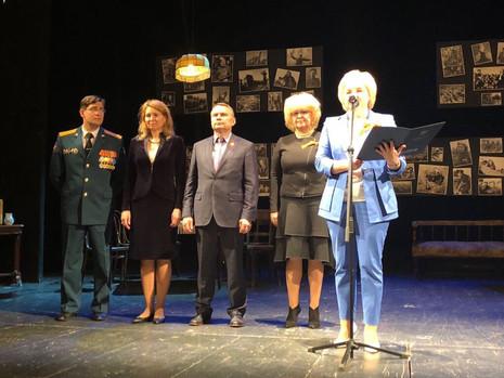 Праздничный спектакль - концерт «Такими мы счастливыми бывали…» в Театре им. Ленсовета