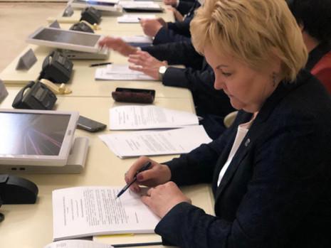 Заседание комитета по законодательству, 31 мая