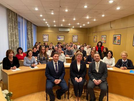 Встреча с коллективом и студентами СПб ТК