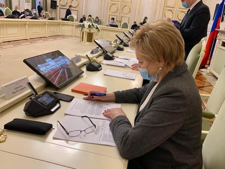 Заседание комитета по законодательству, 22 января
