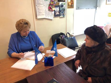 29 марта 2018 года прошли приёмы граждан в Красногвардейском районе