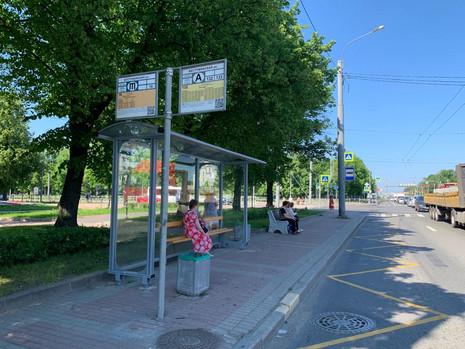 Установлен остановочный пункт на Пискаревском проспекте