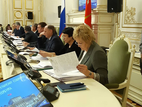 Заседание комитета по законодательству, 31 января