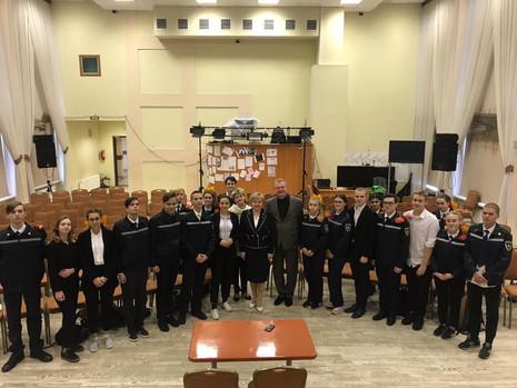 Круглый стол «Мой законопроект» в школе № 184 Калининского района