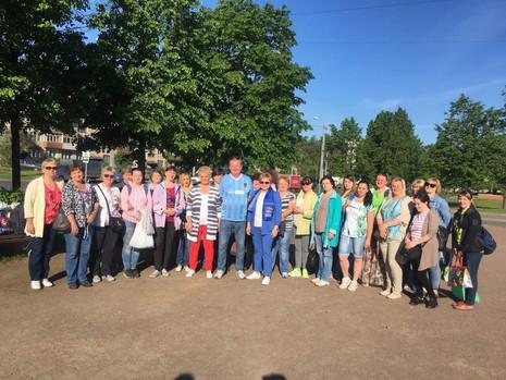Сегодня жители МО Пискаревка отправились в Рускеалу