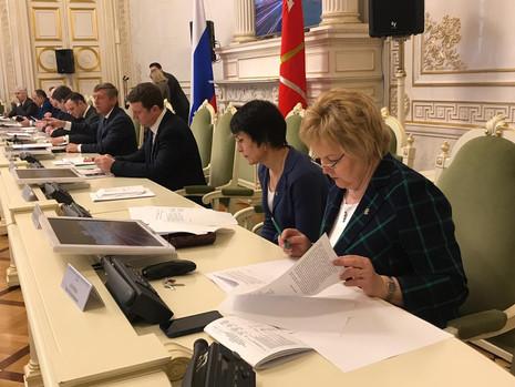Заседание комитета по законодательству, 29 марта