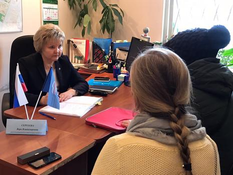 Приемы граждан в Калининском районе
