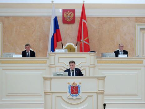 Отчет пресс-службы о заседании Законодательного Собрания СПб 29 января 2020 года