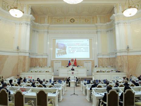 30 января 2019 года состоялось очередное заседание Законодательного Собрания Санкт-Петербурга.