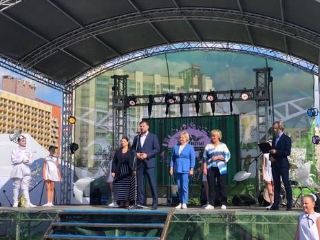 Культурно-образовательный фестиваль «ЭкоОхта» в Полюстровском парке