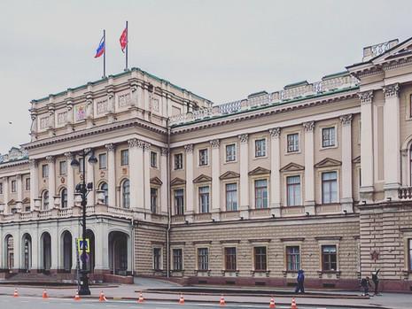 Отчет пресс-службы о заседании Законодательного Собрания СПб 25 марта 2020 года