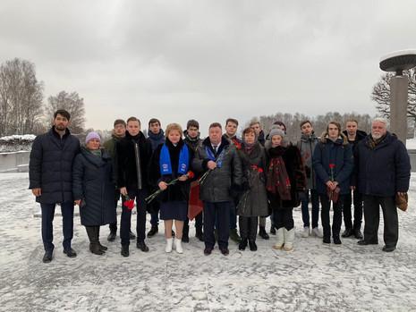 Внеочередная региональная конференция РО «Бессмертный полк России» в Санкт-Петербурге