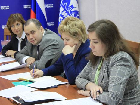 Сергеева В.В. приняла участие в рассмотрении законодательных инициатив