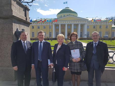 Заседание Совета законодателей Российской Федерации при Федеральном Собрании РФ