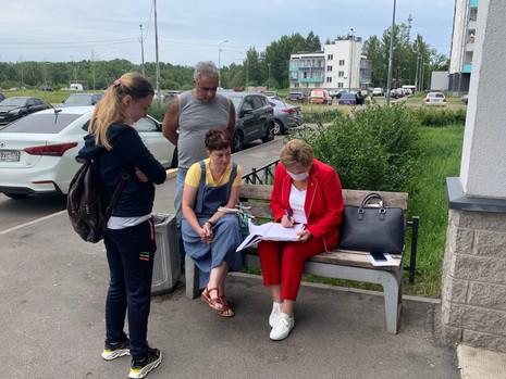 Итоги приёма граждан в ЖК Новая Охта