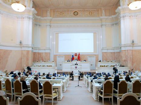 Отчет пресс-службы о заседании Законодательного Собрания СПб 27 февраля 2019 года